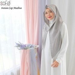 Jilbab Instan Cap Madina