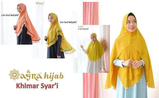 Toko Online Khimar Syar'i Model Terbaru