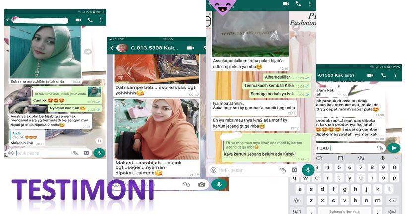 Testimoni Toko Online Jual Khimar Amanah